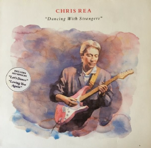 Chris Rea ‎- Dancing With Strangers (LP) (VG-EX/VG) (1)